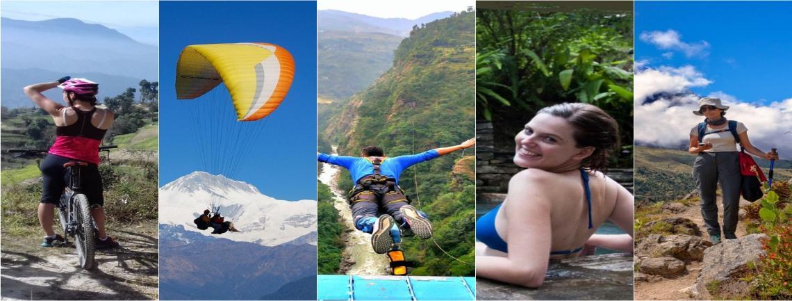 Nepal Multi Adventure tours in nepal, Adventure tour in Nepal